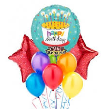 singing birthday delivery balloon bouquet buy balloons online for same day delivery