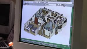 3d Home Architect Design 6 by Broderbund 3d Home Architect For Windows 3 1 Youtube