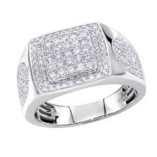 diamond man rings images Luxurman pinky wedding rings affordable 10k gold mens diamond jpg