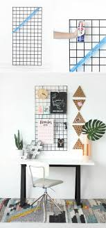 Home Decor Aus Pinnwand Selber Machen Aus Draht Arbeitszimmer Wanddeko