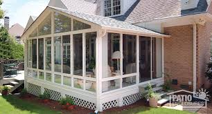Average Cost Of A Sunroom Addition How To Enclose A Patio Porch Or Deck
