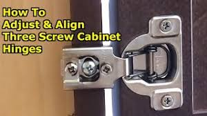 how to adjust corner kitchen cabinet hinges question how do you adjust cabinet hinges that won t