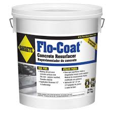 Concrete Patio Resurfacing Products by Sakrete 20 Lb Flo Coat Resurfacer 65450007 The Home Depot