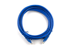 networx 7 ft booted cat6 network patch cable blue computer
