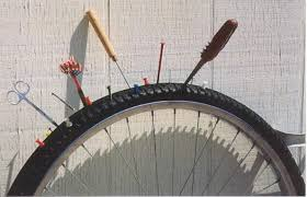 changer chambre à air vélo course éviter les crevaisons à vélo