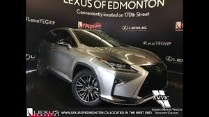 lexus rx 350 interior colors 2017 atomic silver lexus rx 350 awd f sport series 2 in depth