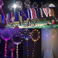 Transparent Balloon LED Light Balloons Wedding Birthday Xmas Party