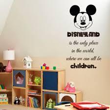 disney wall decals wall quotes children vinyl sticker baby kids