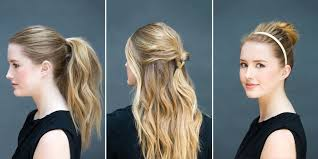 on the go hairstyles 10 easy hairstyles you can do in 10 seconds diy hairstyles