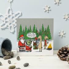 wars christmas card yoda and rudolph wars christmas card by cardinky