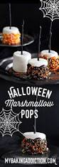 halloween marshmallow pops my baking addiction