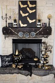 halloween mantels decor mantel ideas halloween decorations for