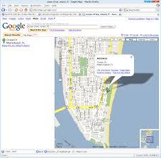Google Map Miami by 1 Miami Map Google