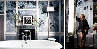 bathroom wallpaper designs de gournay