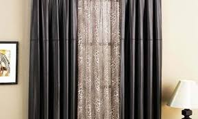curtains thrilling graceful double sided door curtains suitable