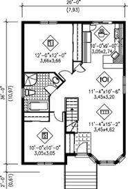Floor Plan Bungalow Bungalow Style House Plan 2 Beds 1 Baths 893 Sq Ft Plan 79 106