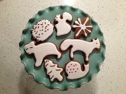 gingerbread forest animals ikea cookie cutters recipe via