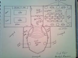 haunted mansion floor plan 1st story by nanakifreak13 on deviantart