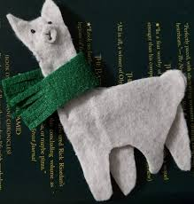 llama ornament diy use resources wisely