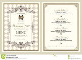 restaurants menu templates free restaurant breakfast menu design template layout stock vector vintage style restaurant menu design royalty free stock photos