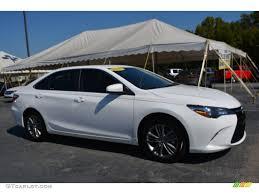 toyota camry 2015 2015 super white toyota camry se 107268691 gtcarlot com car