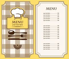 lunch menu template free sle menu format templates franklinfire co