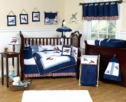 Puppy Crib Bedding Sets Puppy Crib Bedding Sets Navy Blue Vintage Airplane Baby Boy Crib