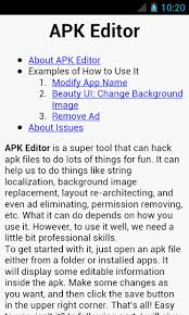 about apk apk editor pro gudang android apptoko