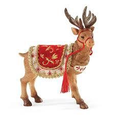 christmas reindeer christmas reindeer figurines