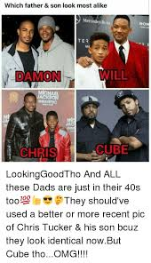 Father And Son Meme - which father son look most alike mercedes benz ter damon mlchael