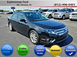 difference between ford fusion se and sel mount vernon in 2011 ford fusion sel used sedan evansville in