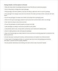 Warehouse Material Handler Resume Courier Resume Courier Resume Samples Visualcv Resume Samples