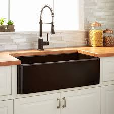 Ferguson Kitchen Sinks Ferguson Kitchen Sinks Beautiful Black Sink With Butcher Block