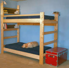simple bunk bed plans bed plans diy u0026 blueprints