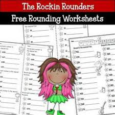 best 25 rounding worksheets ideas on pinterest math round
