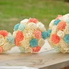 custom large wedding bridal bouquet sola from stelladesignsshop