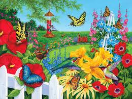 flowers spring flowers birds garden butterfly wallpapers for hd