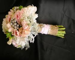 vintage bouquets vintage bridal bouquet with lace pearls and burlaped tulips and
