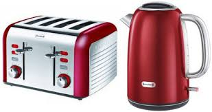 Toaster And Kettle Set Red Breville Kettle And Toaster Combo Deal