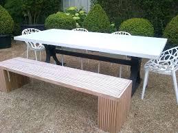 Modern Metal Garden Furniture Metellina Modern Classic Metal Garden Bench Lemon Yellow Kathy Kuo