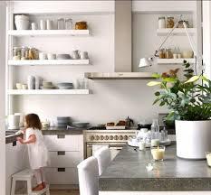 kitchen cute modern kitchen open shelves mountain home homes