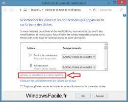 windows 7 icone bureau disparu supprimer l icône fra barre des tâches windowsfacile fr