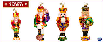 nutcracker ornaments christopher radko nutcrackers christmas ornaments