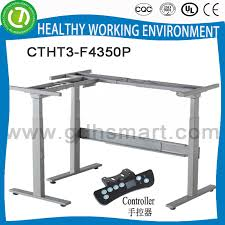 height adjustable desk legs popular china l feet height adjustable desk frame l shaped corner