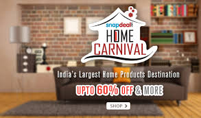 home decor offers 3 great snapdeal offers on home improvement products bag luxu on sale