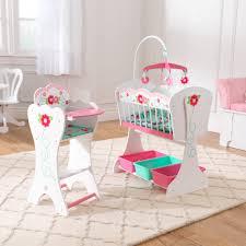 chaise haute poup e meubles de poupée en bois par kidkraft