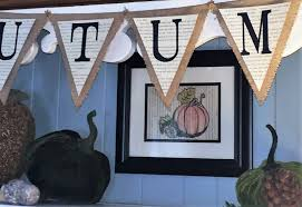 while i linger semi diy burlap banner