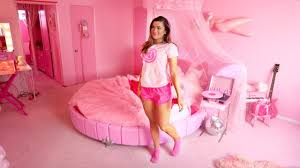 pink room barbie s pink room tour youtube