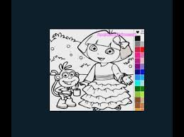 dora coloring pages dora pictures