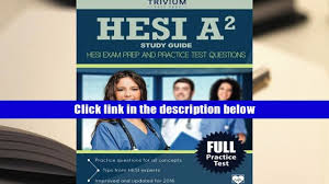 download hesi a2 study guide hesi exam prep and practice test